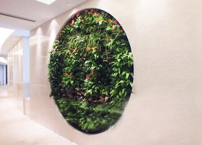 铂尔曼酒店墙体绿化